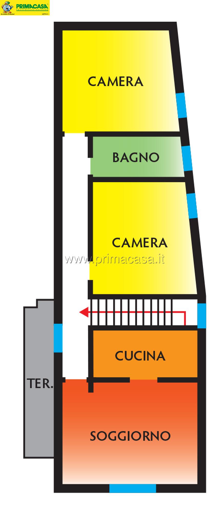 Quadrilocale in vendita - 110 mq