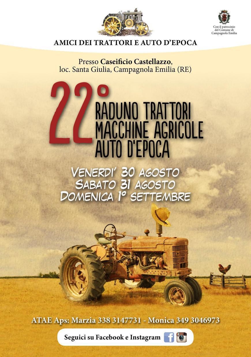 Calendario Manifestazioni Trattori D Epoca.22raduno Trattori Macchine Agricole Auto D Epoca Campagnola
